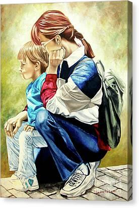 The Peace - La Paz Canvas Print