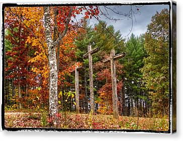 The Peace That Passes All Understanding Canvas Print by Debra and Dave Vanderlaan