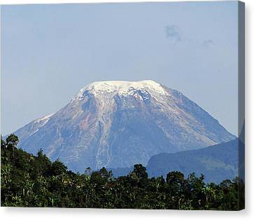 Canvas Print featuring the photograph The Peak by Blair Wainman