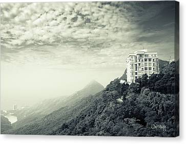 The Peak Canvas Print by Joseph Westrupp