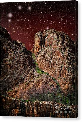 The Peak Canvas Print by Russ Brown