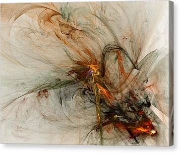 The Penitent Man - Fractal Art Canvas Print