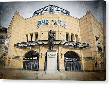 The Peoples Gate - Pnc Park #2 Canvas Print