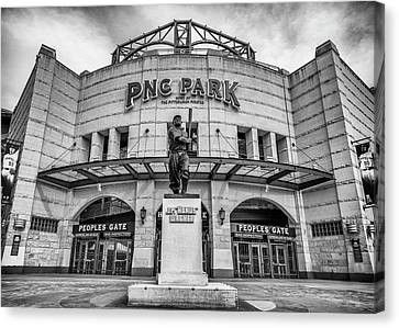All Star Game Canvas Print - The Peoples Gate - Pnc Park #3 by Stephen Stookey