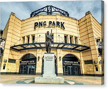 The Peoples Gate - Pnc Park #4 Canvas Print