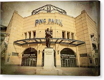 All Star Game Canvas Print - The Peoples Gate - Pnc Park by Stephen Stookey