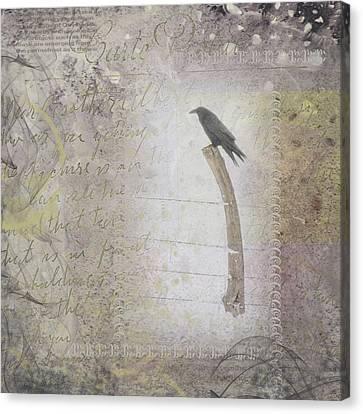 The Perch Canvas Print by Nadine Berg