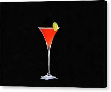 Canvas Print featuring the photograph The Perfect Drink by David Lee Thompson
