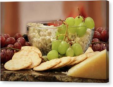 Buffet Canvas Print - The Perfect Snack by Lori Deiter