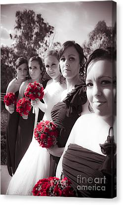 The Perfect Wedding Bouquets Canvas Print by Jorgo Photography - Wall Art Gallery