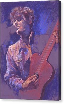 The Performer Canvas Print by Ellen Dreibelbis