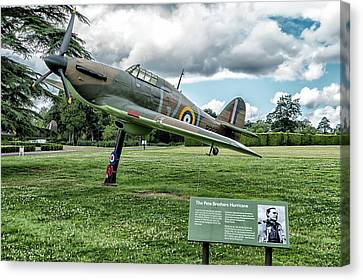 The Pete Brothers Hurricane Canvas Print by Alan Toepfer