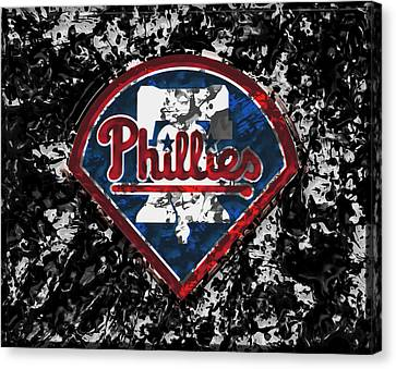 Citizens Bank Park Canvas Print - The Philadelphia Phillies 1a by Brian Reaves