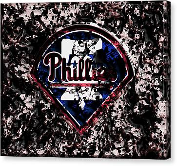 The Philadelphia Phillies Canvas Print by Brian Reaves