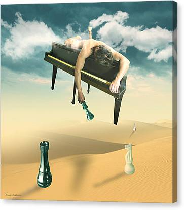 The Pianist  Canvas Print by Mark Ashkenazi