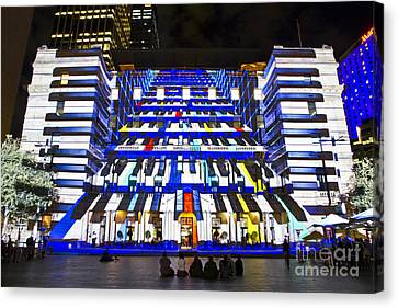 Canvas Print - The Piano - Customs House - Sydney by Bryan Freeman