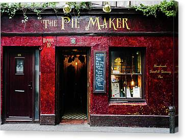 The Pie Maker Canvas Print by Lexa Harpell