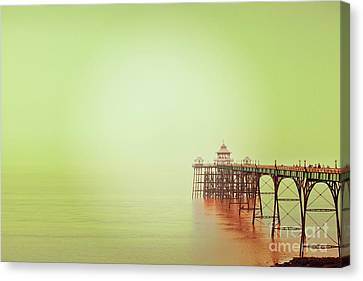 The Pier 2 Canvas Print by Colin and Linda McKie