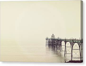 The Pier Canvas Print by Colin and Linda McKie