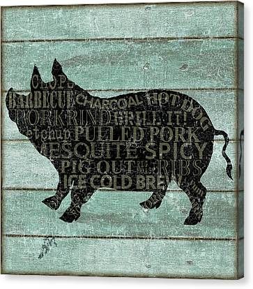 the Pig Canvas Print
