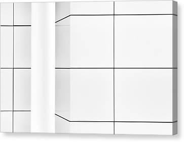 Cityhall Canvas Print - The Pillar In The Corner by Gerard Jonkman