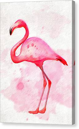 The Pink Flamingo Canvas Print by Dan Sproul
