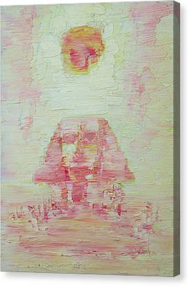 The Plateaus Canvas Print - The Pink Sphinx by Fabrizio Cassetta