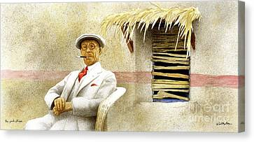 The Pink Stripe... Canvas Print by Will Bullas