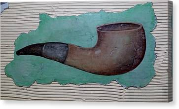 The Pipe Canvas Print by Rob Hans