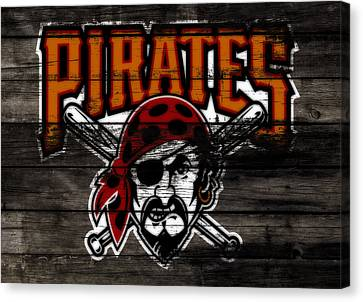Philadelphia Phillies Stadium Canvas Print - The Pittsburgh Pirates 1d by Brian Reaves