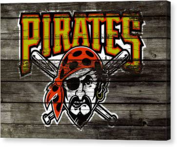 Philadelphia Phillies Stadium Canvas Print - The Pittsburgh Pirates by Brian Reaves
