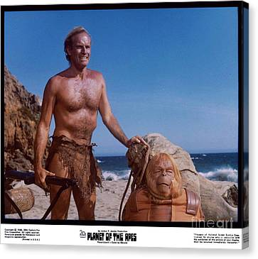 The Planet Of The Apes 1968 Canvas Print
