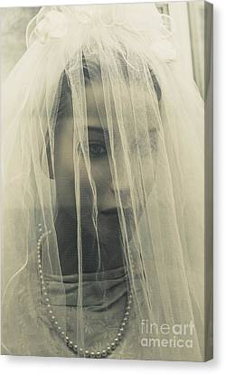 The Plastic Bride Canvas Print