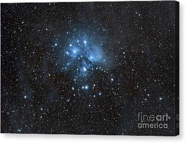 The Pleiades, Also Known As The Seven Canvas Print by John Davis