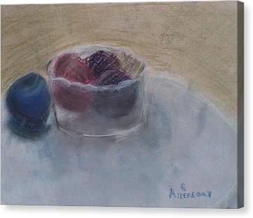 The Plums Canvas Print by Seaux-N-Seau Soileau