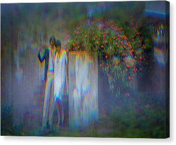 Canvas Print - The Poet by Ron Morecraft