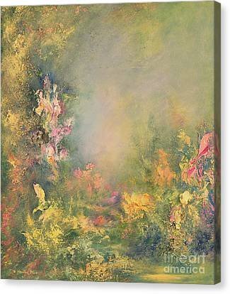 The Poetry Of Nature Canvas Print by Hannibal Mane