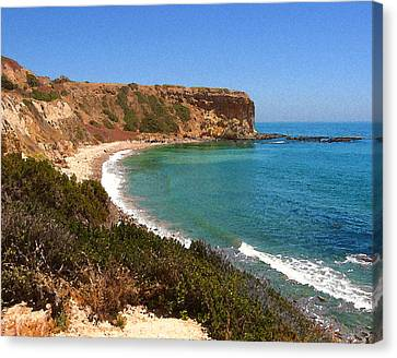 The Point At Abalone Cove Canvas Print