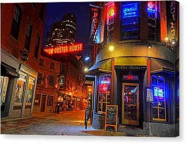 The Point Marshall Street Boston Ma Canvas Print by Toby McGuire