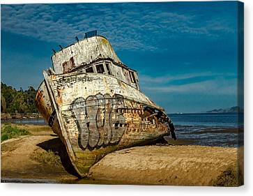 Canvas Print - The Point Reyes Beached by Bill Gallagher