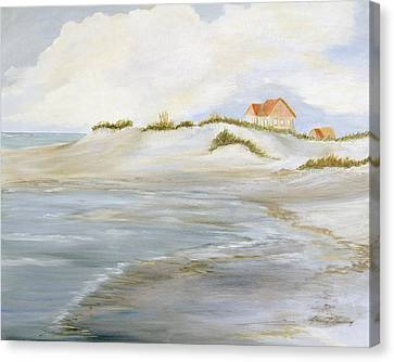 The Point Canvas Print by Shirley Lawing