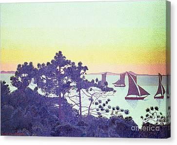 The Pointe De La Galere Canvas Print