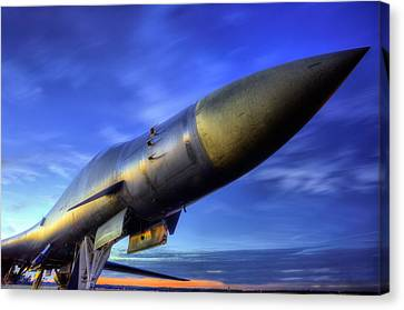 The Pointy End Of The Spear Canvas Print by JC Findley
