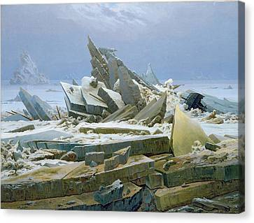 The Polar Sea Canvas Print