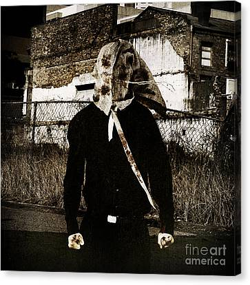 Frightening Canvas Print - The Potato Sacker by Jorgo Photography - Wall Art Gallery