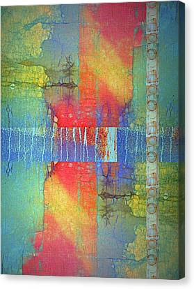 Canvas Print featuring the digital art The Power Of Colour by Tara Turner