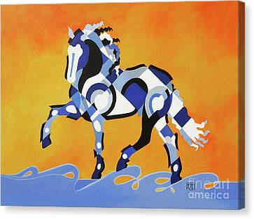 The Power Of Equus Canvas Print