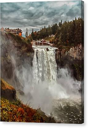 The Powerful Snoqualmie Falls Canvas Print