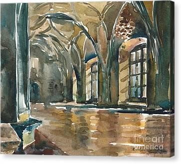 The Prague Castle Canvas Print
