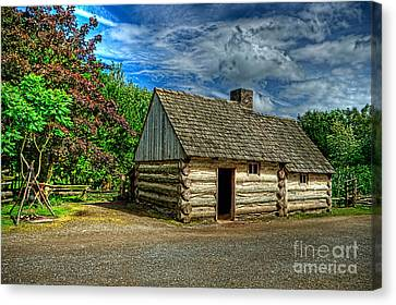 The Prairie House Canvas Print by Kim Shatwell-Irishphotographer